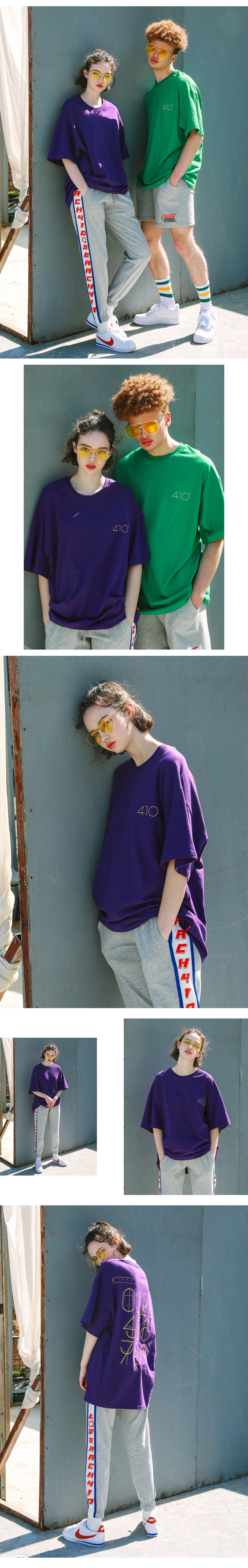 써치410(SEARCH410) (UNISEX) INCH OVER T_VIOLET