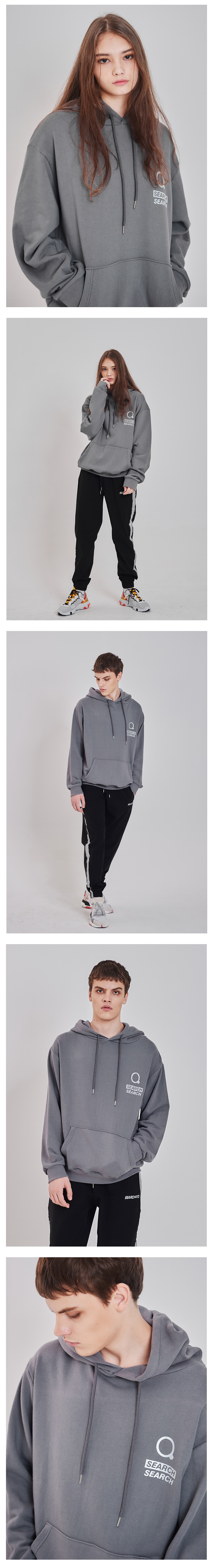 SPARKLE HOODIE_CHARCOAL