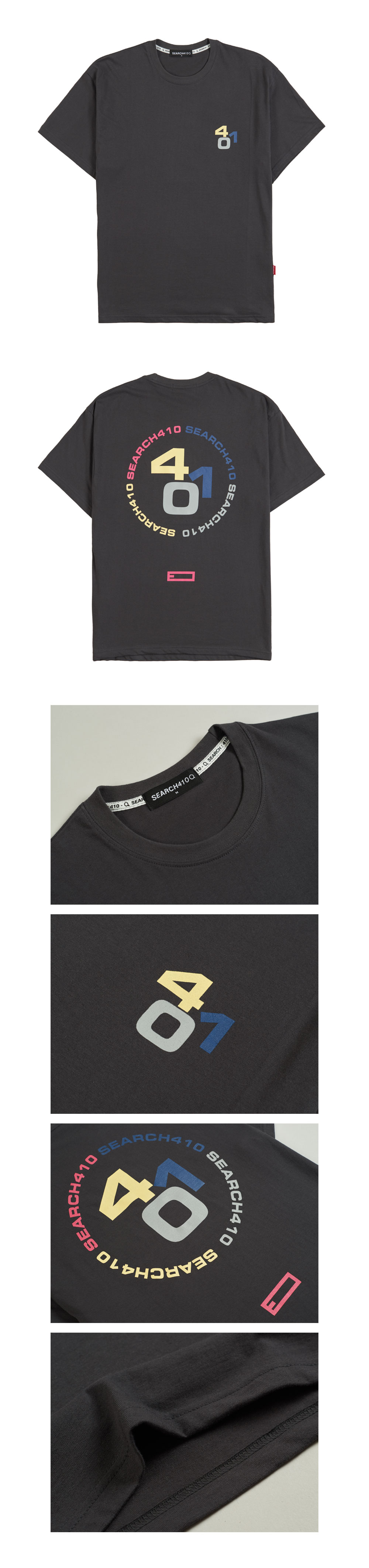 [UNISEX] CROSSEFFECT OVER T_CHARCOAL