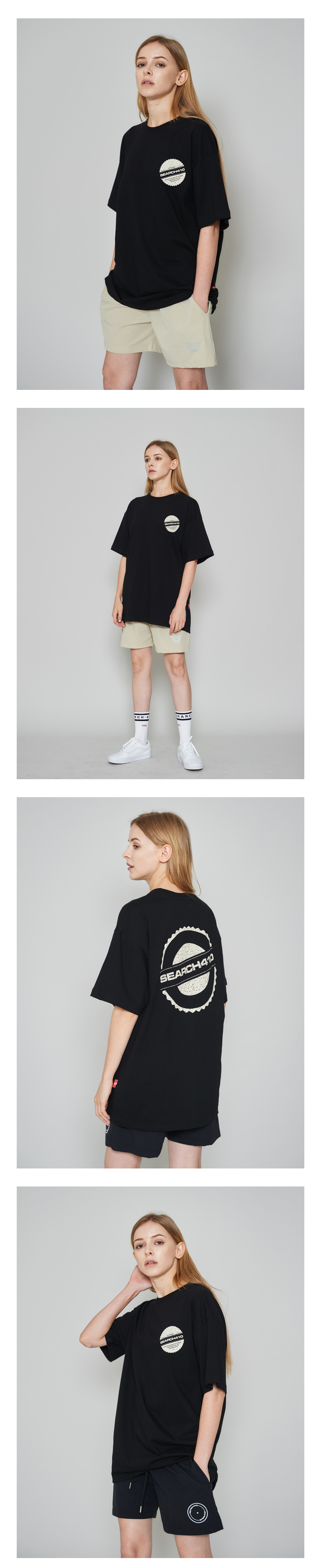 [UNISEX] STAMP OVER T_BLACK